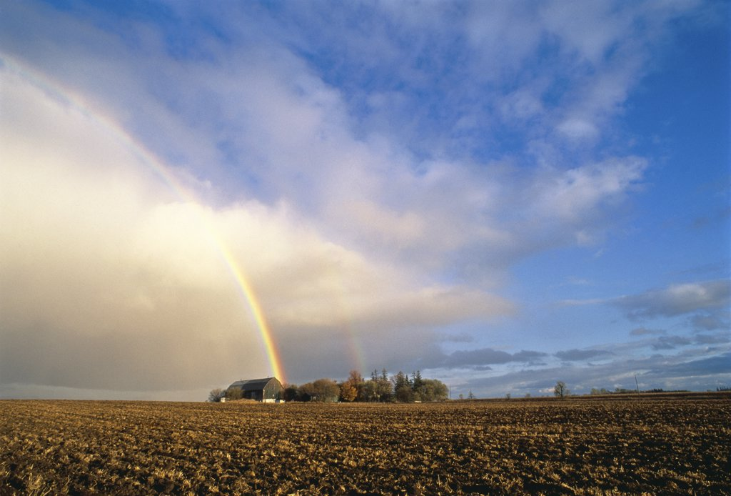 Rainbow Markham, Ontario, Canada    : Stock Photo