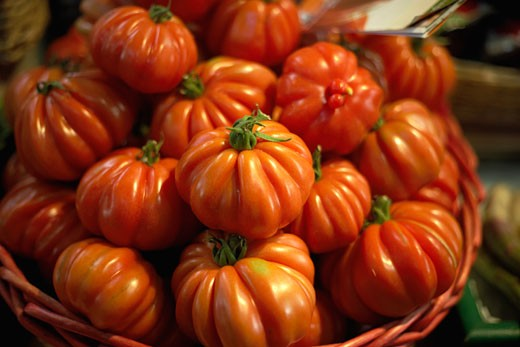 Stock Photo: 1828R-21057 Close-Up of Tomatoes