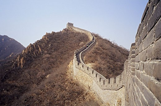 Stock Photo: 1828R-21297 Great Wall, China