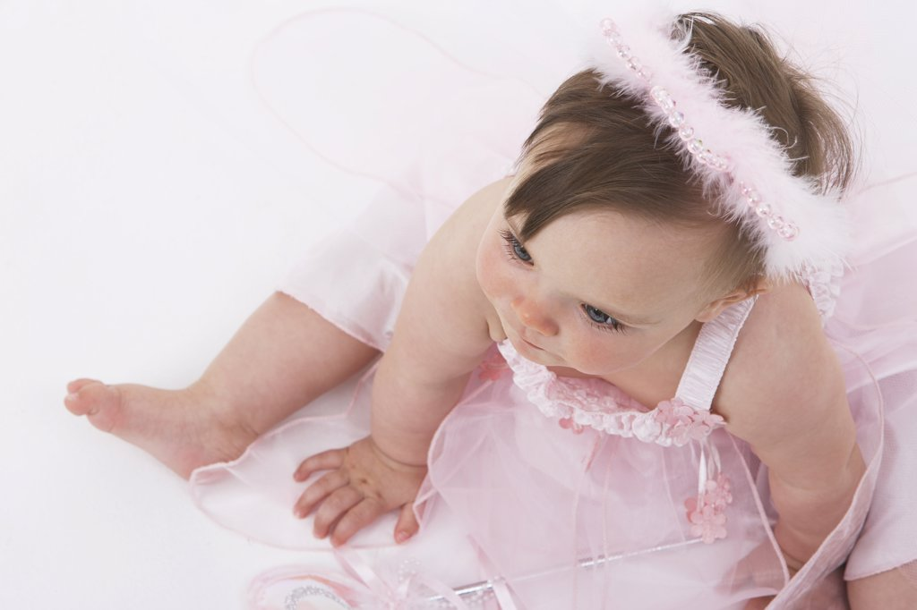Stock Photo: 1828R-21440 Baby in Costume