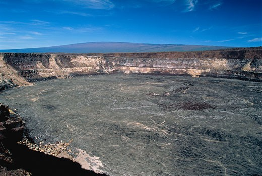 Kilauea Caldera Crater Hawaii Volcanoes National Park Hawaii, USA    : Stock Photo