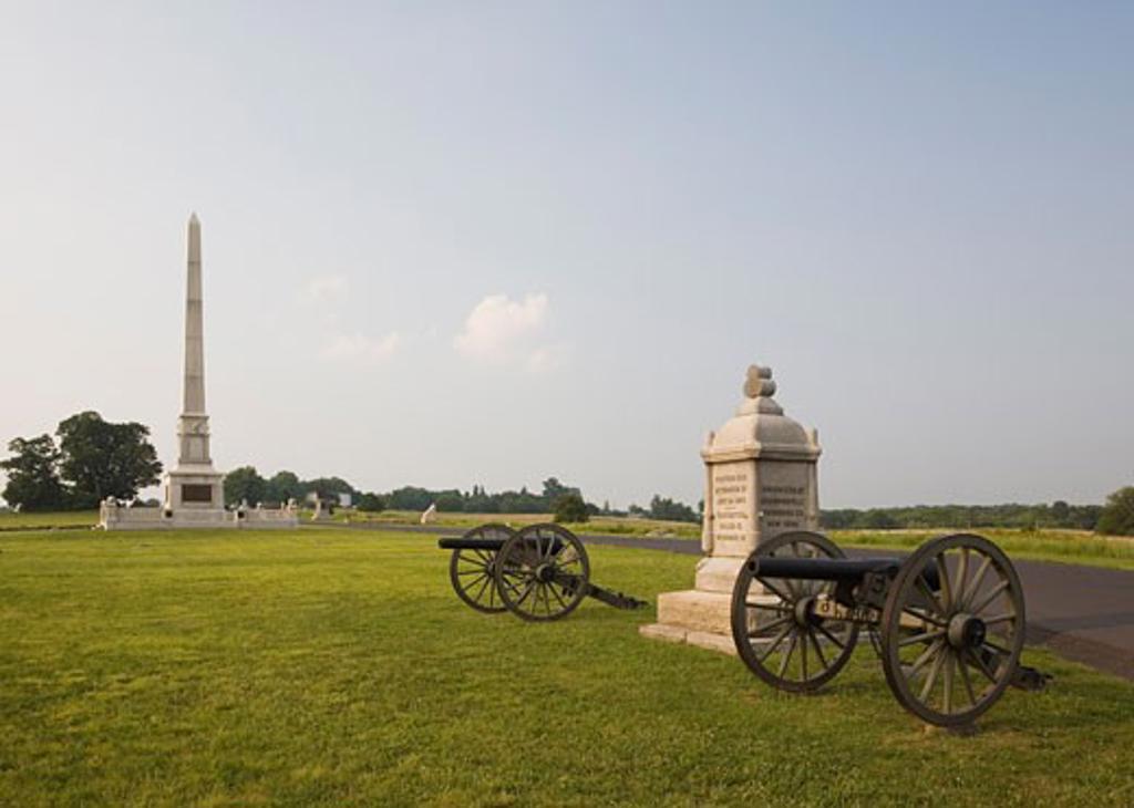 Stock Photo: 1828R-22045 Gettysburg National Military Park, Gettysburg, Pennsylvania, USA