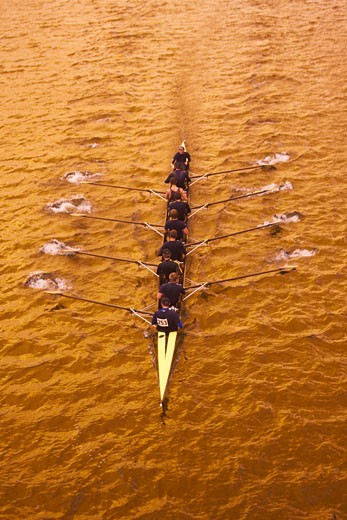 Stock Photo: 1828R-22801 Overview of Rowing