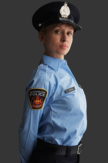 Portrait of Police Officer    : Stock Photo