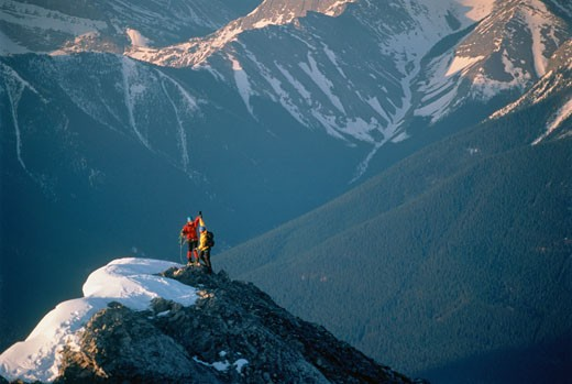 Stock Photo: 1828R-2392 East Ridge, Mount Lady MacDonald near Canmore, Alberta, Canada