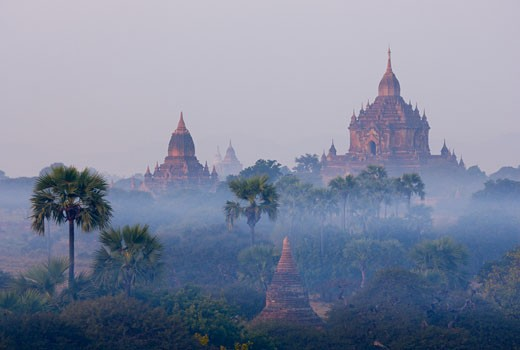 Stock Photo: 1828R-24149 Bagan, Myanmar