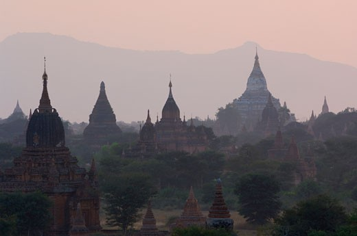 Stock Photo: 1828R-24154 Bagan, Myanmar