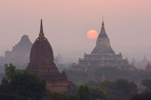 Stock Photo: 1828R-24158 Bagan, Myanmar