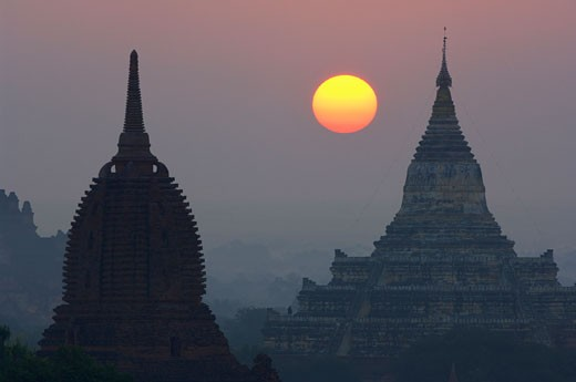 Stock Photo: 1828R-24159 Bagan, Myanmar