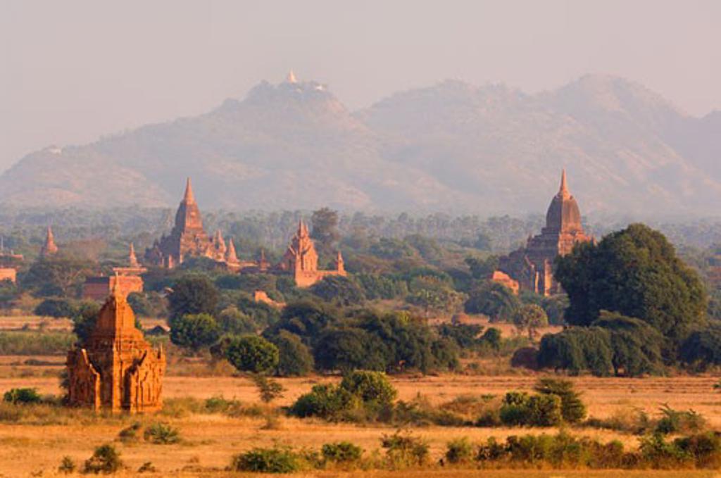 Stock Photo: 1828R-24166 Bagan, Myanmar