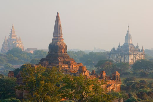 Stock Photo: 1828R-24168 Bagan, Myanmar