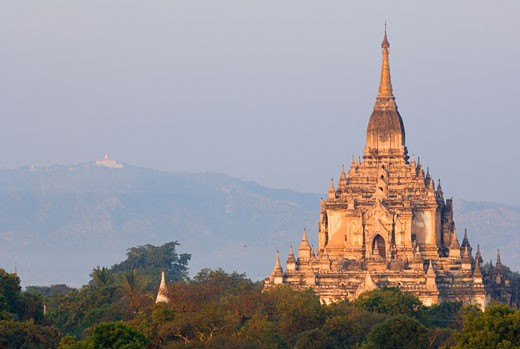Stock Photo: 1828R-24170 Gawdawpalin, Bagan, Myanmar