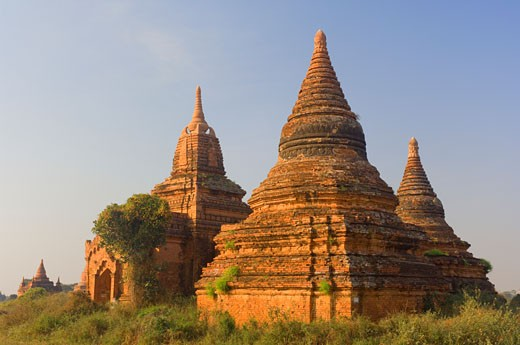 Stock Photo: 1828R-24172 Bagan, Myanmar