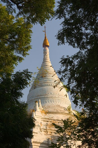 Stock Photo: 1828R-24173 Pagoda, Bagan, Myanmar