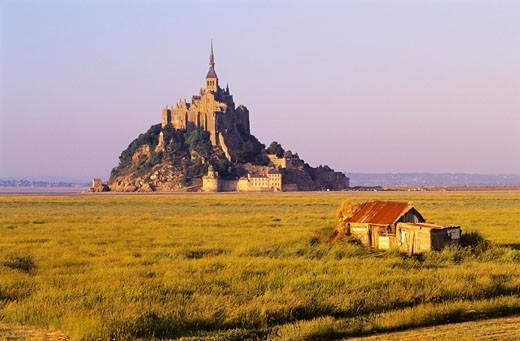 Mont Saint Michel, Normandy, France    : Stock Photo
