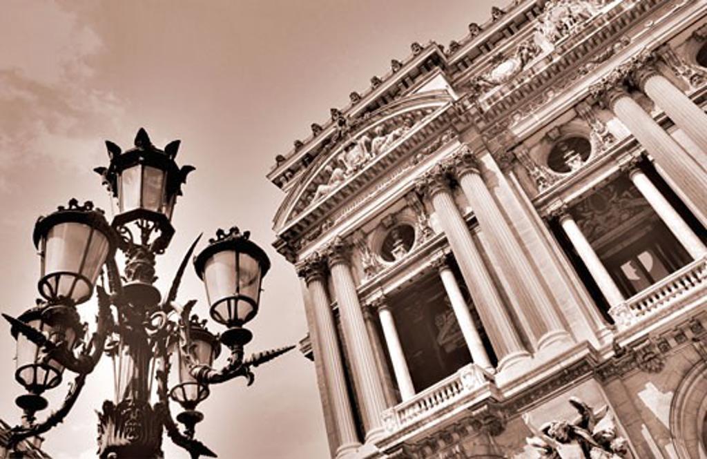 Paris Opera House Paris, France    : Stock Photo