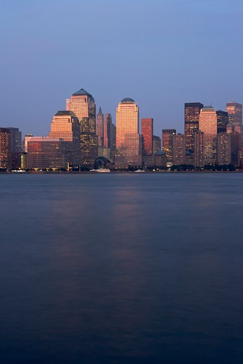 Lower Manhattan Skyline, New York City, New York, USA    : Stock Photo