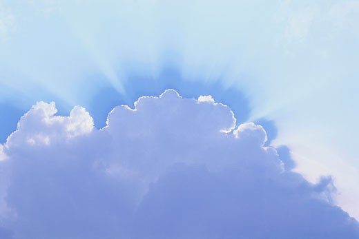 Stock Photo: 1828R-2802 Clouds