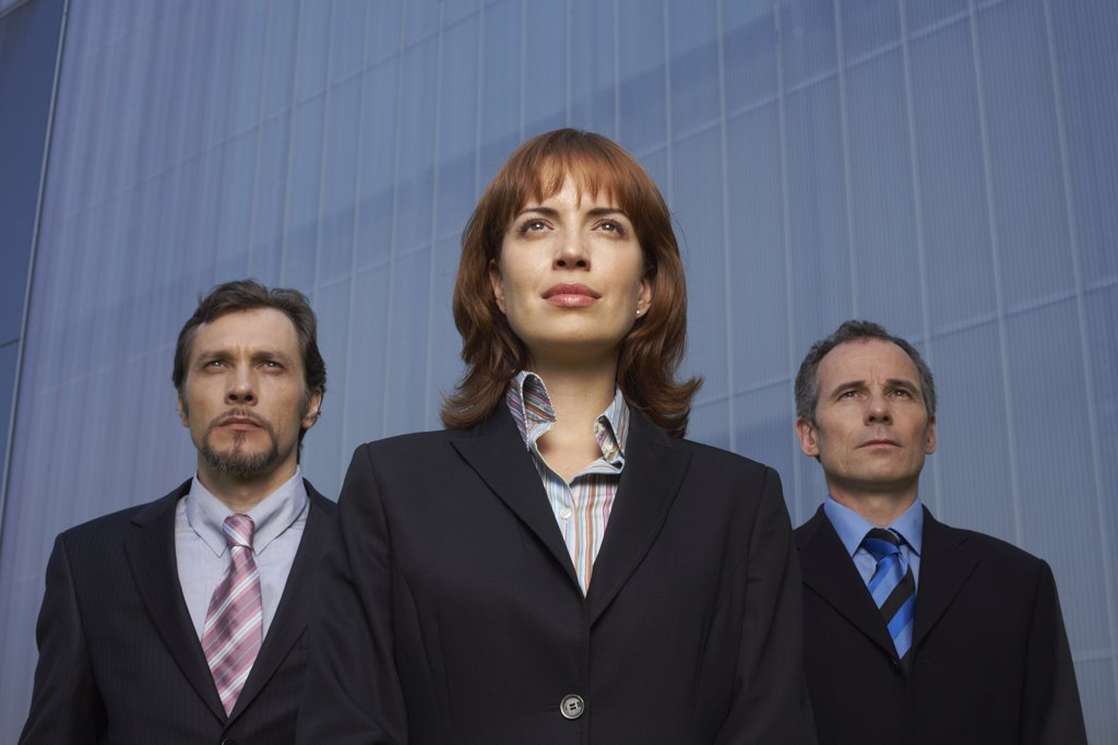 Stock Photo: 1828R-28152 Portrait of Business People