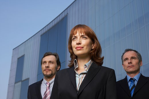 Stock Photo: 1828R-28153 Portrait of Business People