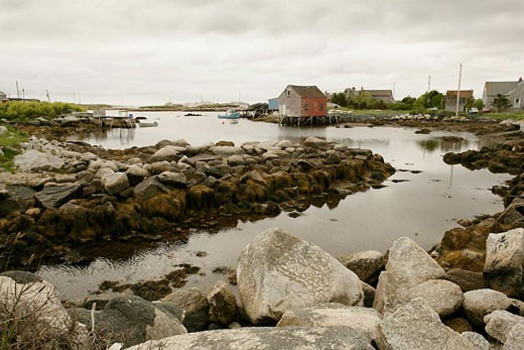 Stock Photo: 1828R-28919 St Margaret's Bay, Nova Scotia, Canada