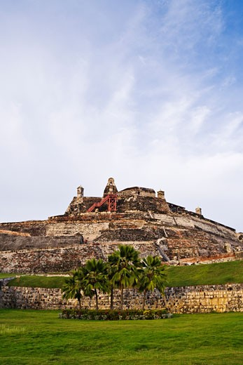 Stock Photo: 1828R-30106 Castillo de San Felipe de Barajas Cartagena, Colombia