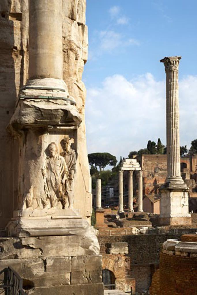 Stock Photo: 1828R-31452 Palatino, Rome, Italy