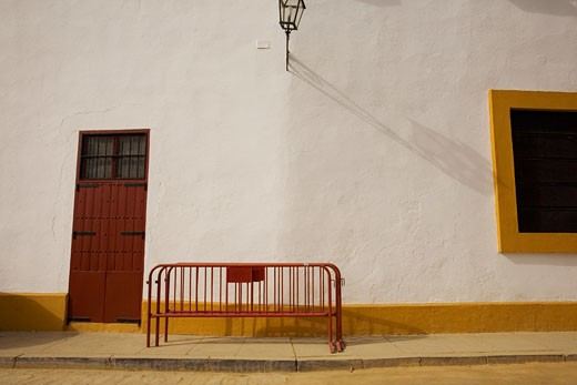 Stock Photo: 1828R-31737 Exterior of Bullfighting Ring, Seville, Spain