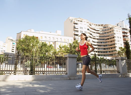 Stock Photo: 1828R-31755 Woman Jogging