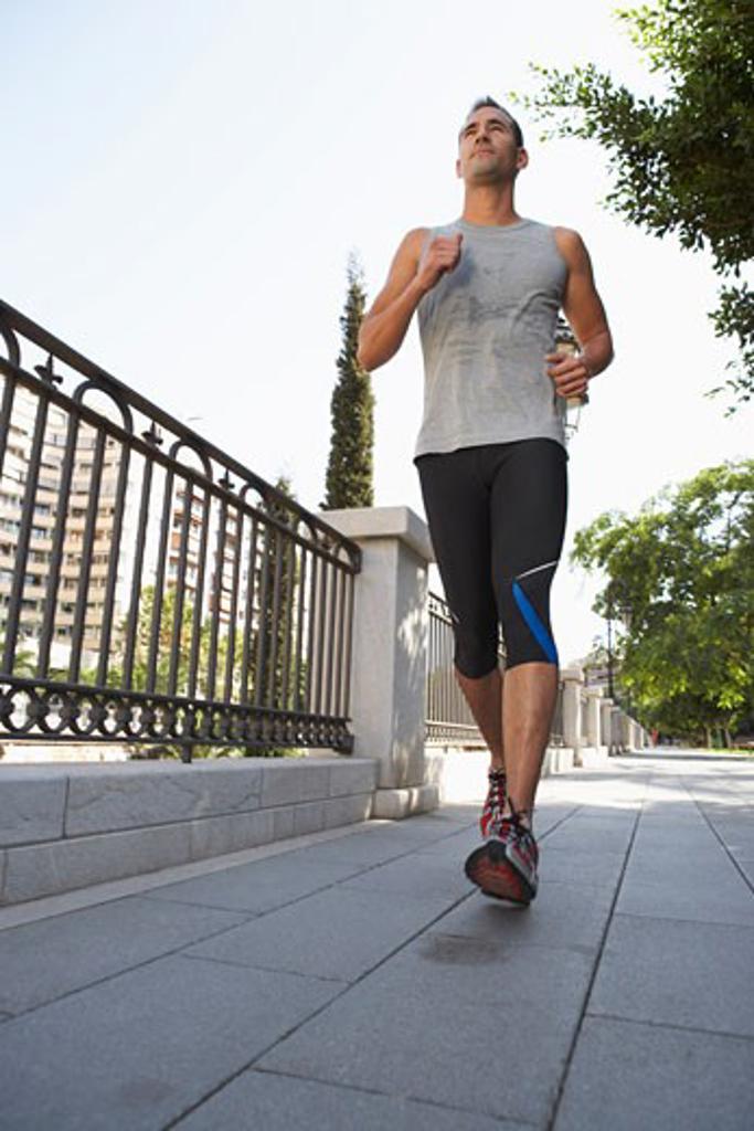 Stock Photo: 1828R-31756 Man Jogging