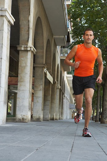 Stock Photo: 1828R-31764 Man Jogging