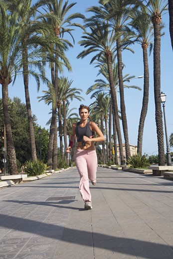 Stock Photo: 1828R-31784 Woman Jogging