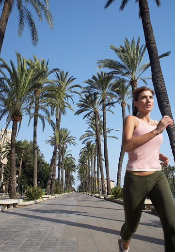 Stock Photo: 1828R-31785 Woman Jogging
