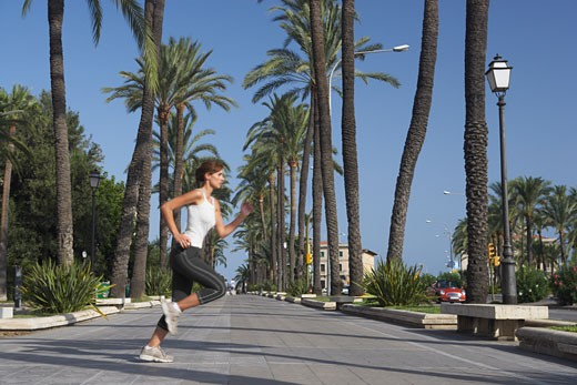 Stock Photo: 1828R-31787 Woman Jogging