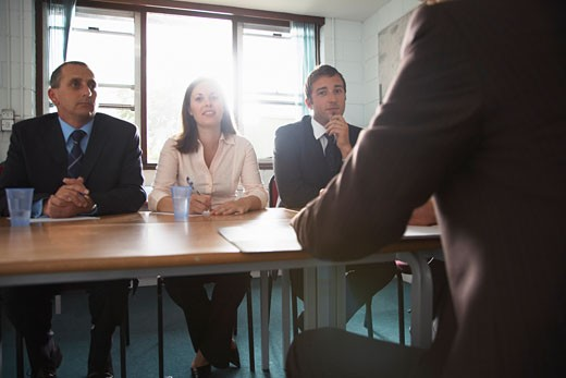 Stock Photo: 1828R-32598 Business Meeting