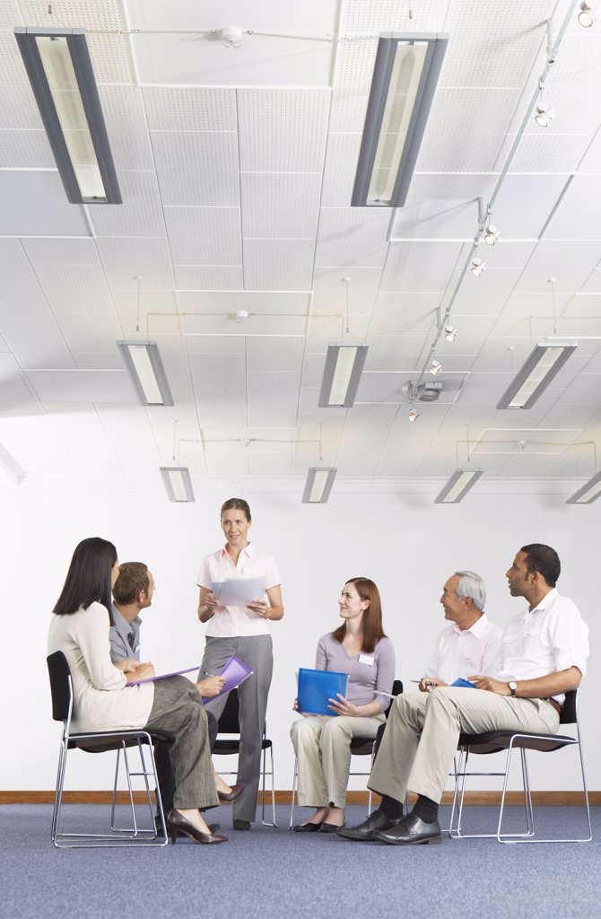 Stock Photo: 1828R-34071 Business Meeting