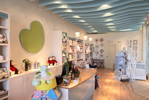 Stock Photo: 1828R-34148 Interior of Children's Store