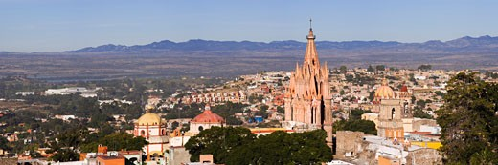 Stock Photo: 1828R-34343 San Miguel de Allende, Mexico