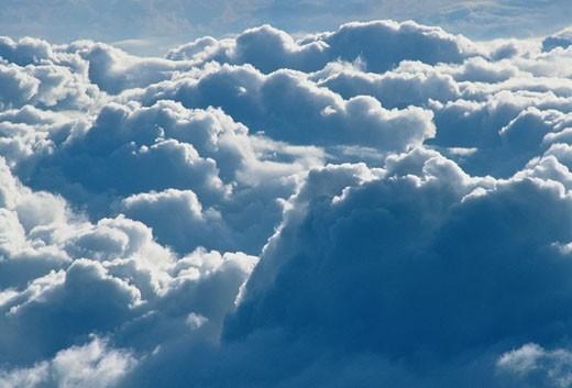 Stock Photo: 1828R-3445 Clouds Borneo, Indonesia