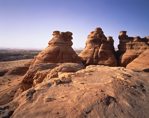 Rock Formations and Landscape, Al'Ula, Saudi Arabia    : Stock Photo