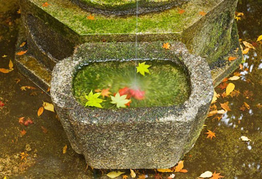 Pedestal of Statue, Kyoto, Honshu, Japan    : Stock Photo