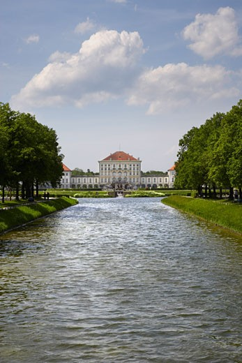 Nymphenburg Palace, Munich, Germany    : Stock Photo