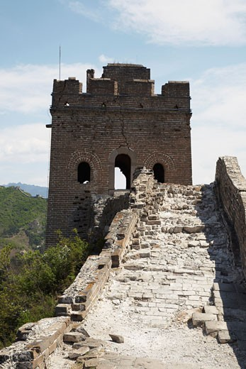 Stock Photo: 1828R-37009 The Great Wall, China