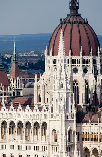 Hungarian Parliament Building, Budapest, Hungary    : Stock Photo