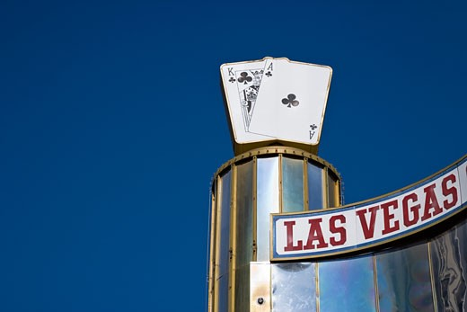 Stock Photo: 1828R-38551 Las Vegas Club Hotel and Casino, Fremont Street, Las Vegas, Nevada, USA