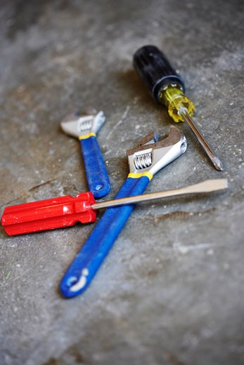 Stock Photo: 1828R-38840 Assorted Tools
