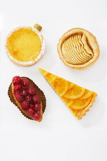 Stock Photo: 1828R-39330 Close-up of Pastries