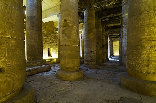Temple of Seti I, Abydos, Egypt    : Stock Photo