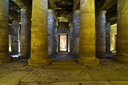 Stock Photo: 1828R-39358 Temple of Seti I, Abydos, Egypt
