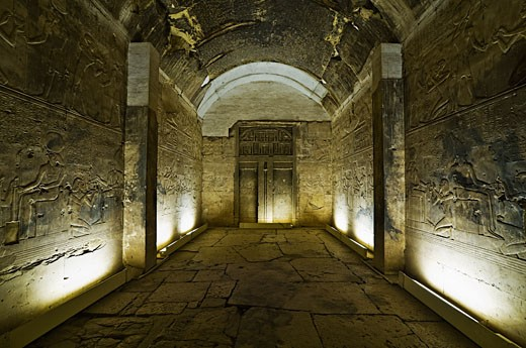 Stock Photo: 1828R-39359 Temple of Seti I, Abydos, Egypt